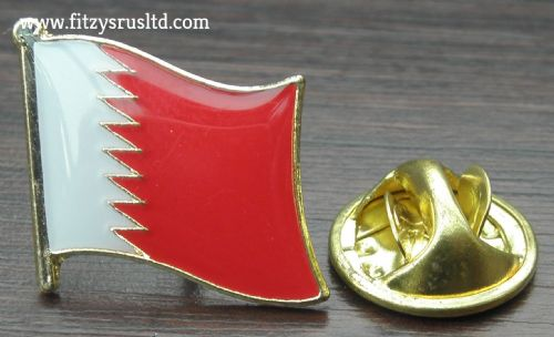 Bahrain Flag Lapel Hat Cap Tie Pin Badge - Kingdom Mamlakat al-Barayn